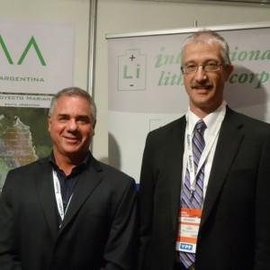 De izquierda a derecha: Roberto Lara y John Harrop